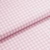 Leichter Baumwollstoff - Pastellviolett mit kleinen Rhomben - von Gütermann