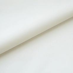 Popeline - dünner Baumwollstoff - Cremeweiß