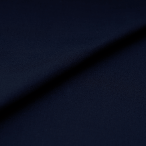Popeline - dünner Baumwollstoff - Dunkelblau