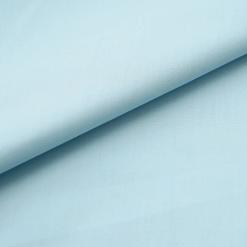 Popeline - dünner Baumwollstoff - Hellblau
