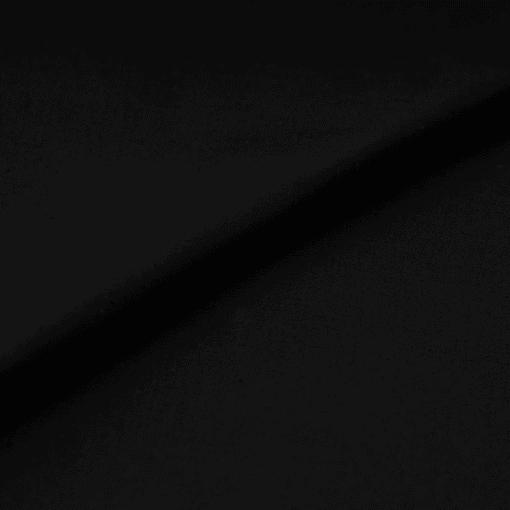 Popeline - dünner Baumwollstoff - Schwarz