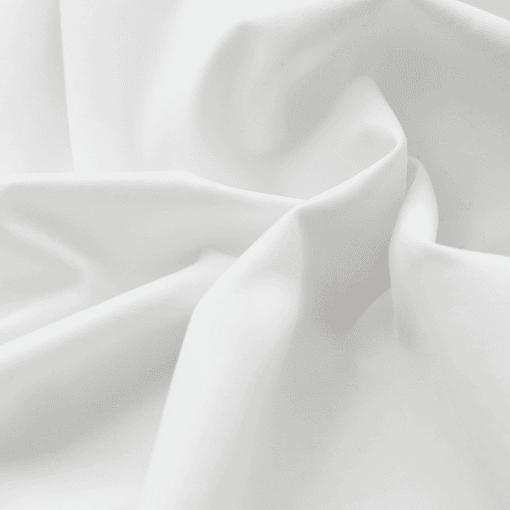 Popeline - dünner Baumwollstoff - Weiß