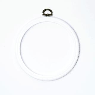 Stickrahmen weiß 14,5 cm
