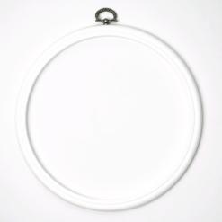 Stickrahmen weiß 19 cm