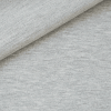 French Terry - dünner Sweatshirtstoff - Hellgrau meliert