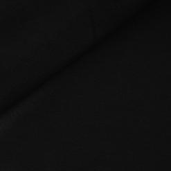 French Terry - dünner Sweatshirtstoff - Schwarz