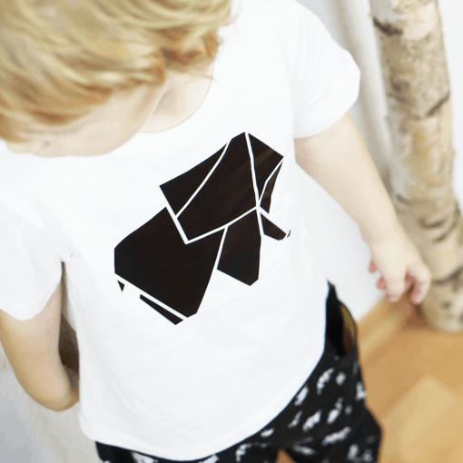 Plottermotiv Origami Elefant