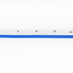 Pomponborte - Mini-Mini - Blau