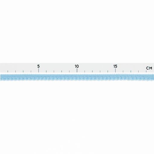 Pomponborte - Mini-Mini - Tiefes Hellblau