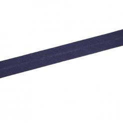 Schrägband - Dunkelblau