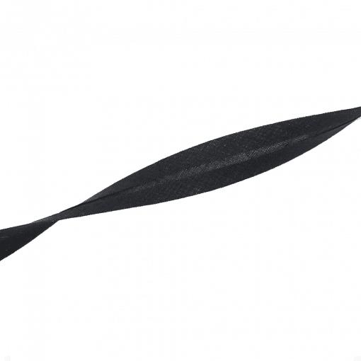 Schrägband - Schwarz