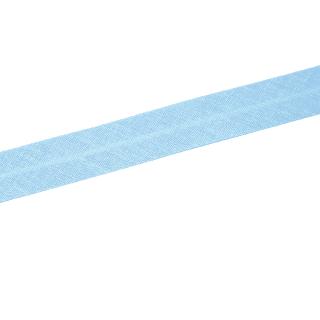 Schrägband - Tiefes Hellblau