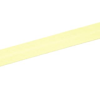 Schrägband - Vanille Gelb
