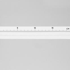 Schrägband - Weiß