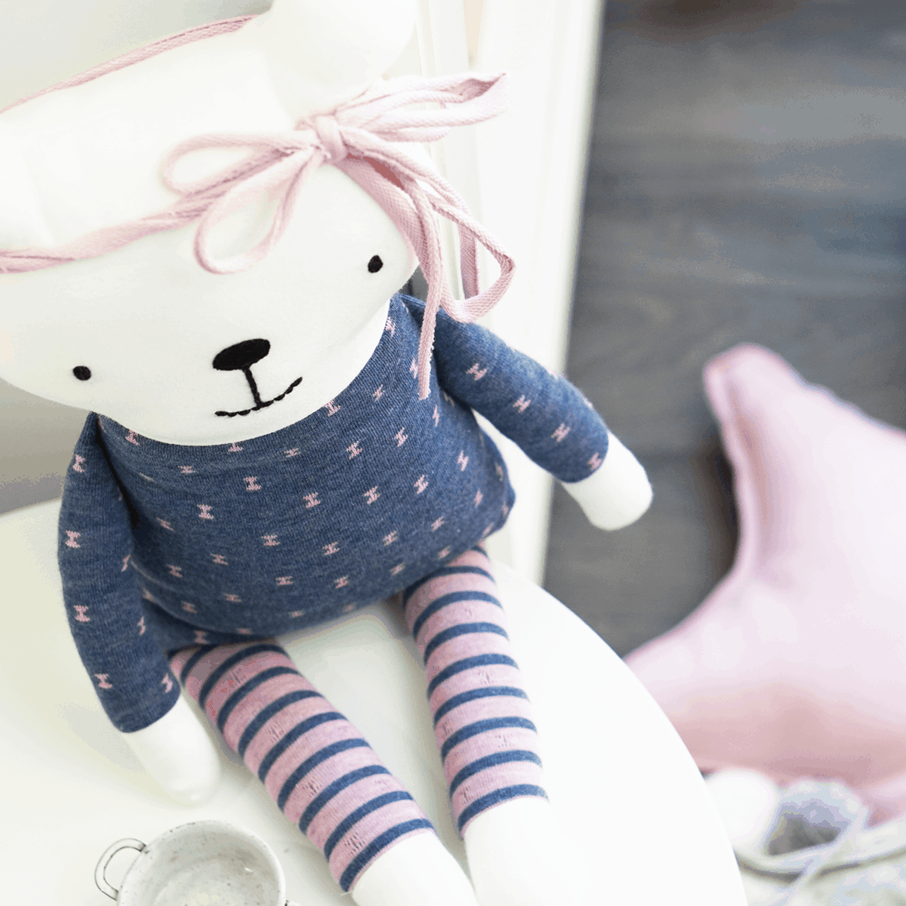 Paket Teddy Lia | DIY Stoffe