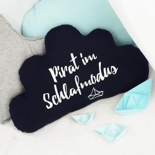 Wolke Kissen - Anleitung & Schnittmuster