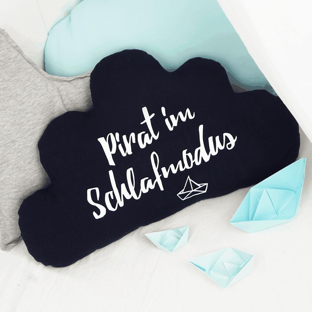 Wolke Kissen - Anleitung & Schnittmuster | DIY Stoffe