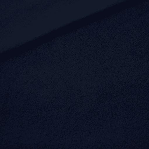 Baumwollfleece - Dunkelblau