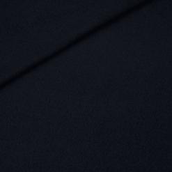 Walk - Wollstoff - dunkles Navyblau