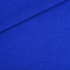 Stretch-Leinen Royalblau