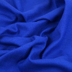 Stretch-Leinen Royalblau