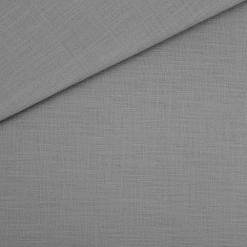 Stretch-Leinen - Silbergrau