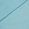 French Terry strukturiert - dünner Sweatshirtstoff - Aqua Türkis
