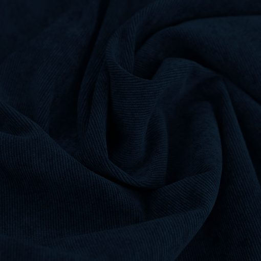 Feincord - leicht elastisch - Dunkelblau