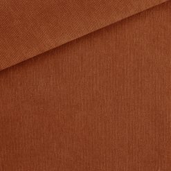Feincord - leicht elastisch - Kupfer