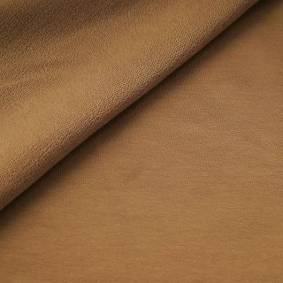 French Terry - dünner Sweatshirtstoff - Camel Beige