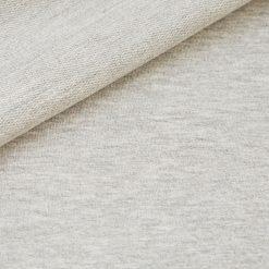 French Terry - dünner Sweatshirtstoff - Ecru meliert