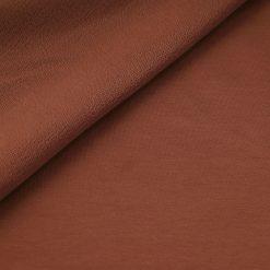 French Terry - dünner Sweatshirtstoff - Kupferbraun