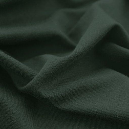 French Terry - dünner Sweatshirtstoff - Tannengrün