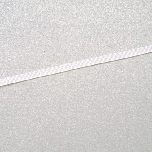Gummiband weiss 5 mm
