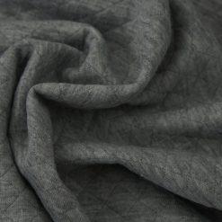 Stepp-Jersey - Dunkelgrau meliert
