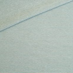 Single Jersey Altmint Weiß 1mm gestreift