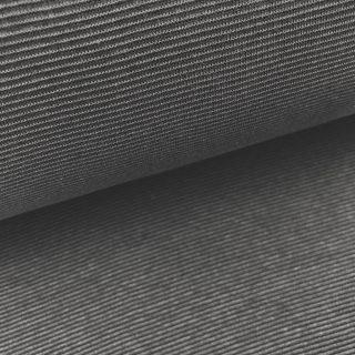 Buendchen Stahlgrau 1mm gestreift