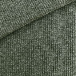 Rip Jersey Khaki-Grün meliert