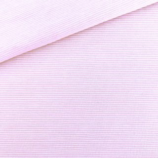 Single Jersey Mittleres Altrosa Weiß 1mm gestreift