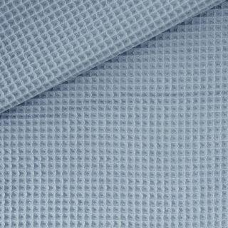 Waffelpique 2 Graublau