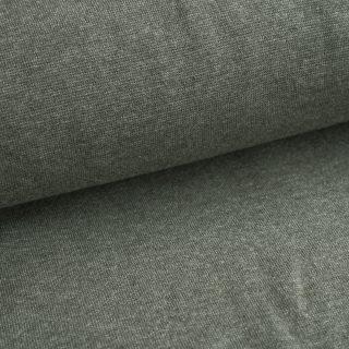 Bündchen Khaki-Grün meliert