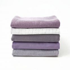 Stoffpaket Smoky Lavendel & Grau