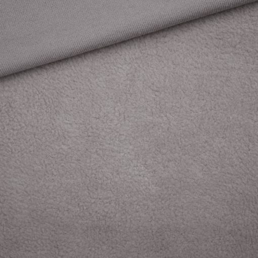 Leichter Baumwollfleece Grey Taupe