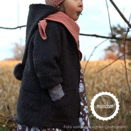 Mantel Mika mit Reißverschluss