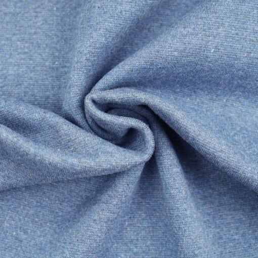 Bündchen Smoky Jeansblau meliert