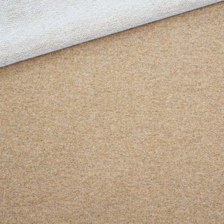 French Terry Camel Beige meliert