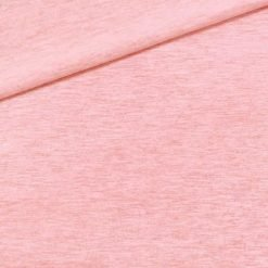 Single Jersey Kuschelweich Lachsrosa meliert