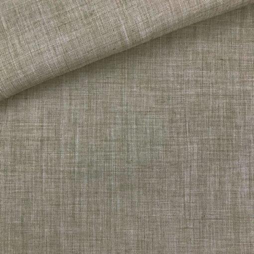 Leichter Baumwollmix - Oliv Melange