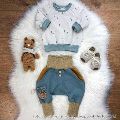DIY Stoffe Outfit Paule Kurt