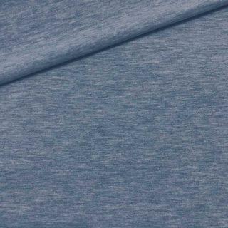 Single Jersey - Kuschelweich Jeans meliert